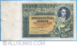Image #1 of 20 Złotych 1931 (20. VI.)