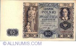 Image #1 of 20 Zlotych 1936 (11. XI.)