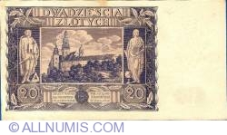 Image #2 of 20 Zlotych 1936 (11. XI.)