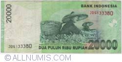 Image #2 of 20,000 Rupiah 2004/2009