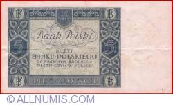 Image #2 of 5 Zlotych 1930 (2. I.)