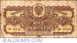 Image #1 of 5 Zlotych 1944
