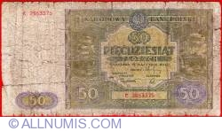 Image #1 of 50 Zlotych 1946 (15. V.)