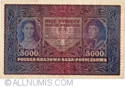 Image #1 of 5000 Marek 1920 (7. II.) - II Serja