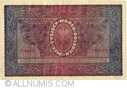 5000 Marek 1920 (7. II.) - II Serja