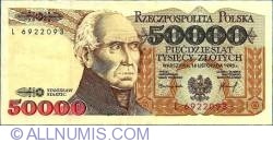 Image #1 of 50000 Zlotych 1993