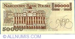 Image #2 of 50000 Zlotych 1993