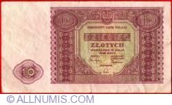 Image #1 of 10 Zlotych 1946 (15. V.)