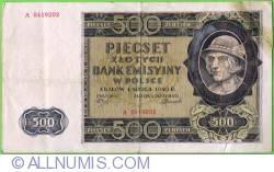 Image #1 of 500 Zlotych 1940 (1. III.)