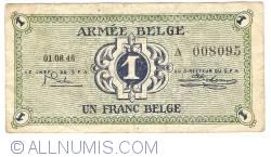 1 Franc 1946 (01. VIII)