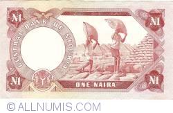 Imaginea #2 a 1 Naira ND (1973-1978)
