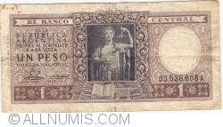Image #1 of 1 Peso ND (1952-1955)