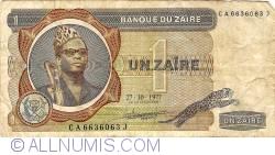 1 Zaïres 1977 (27. X)