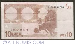 10 Euro 2002 Z (Belgium)