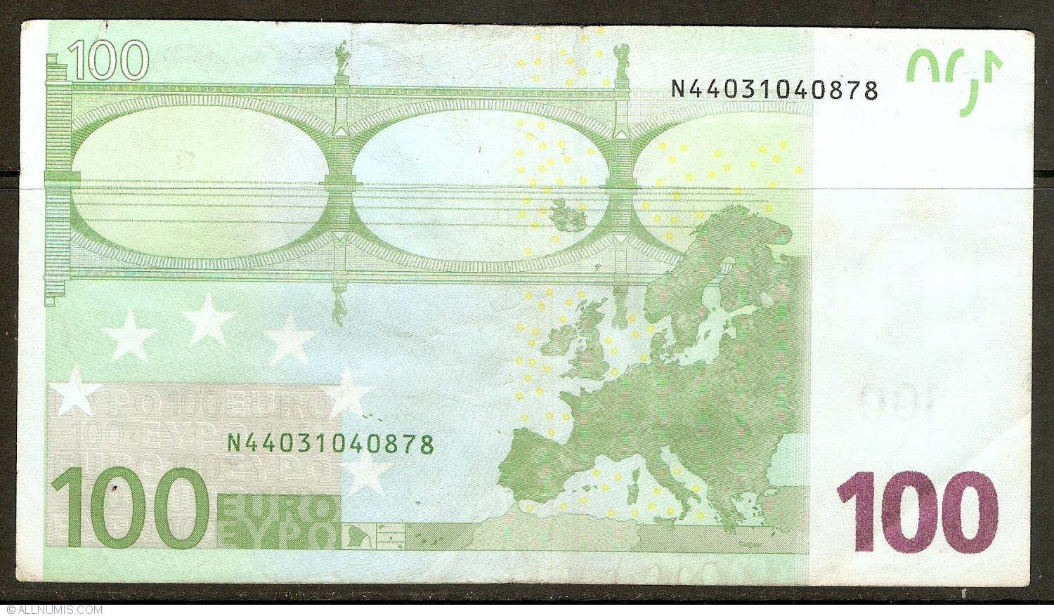 100 Euro 2002 N (Austria), 2002 Issue - 100 Euro ...
