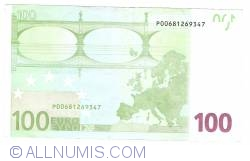 Image #2 of 100 Euro 2002 P (Netherlands)