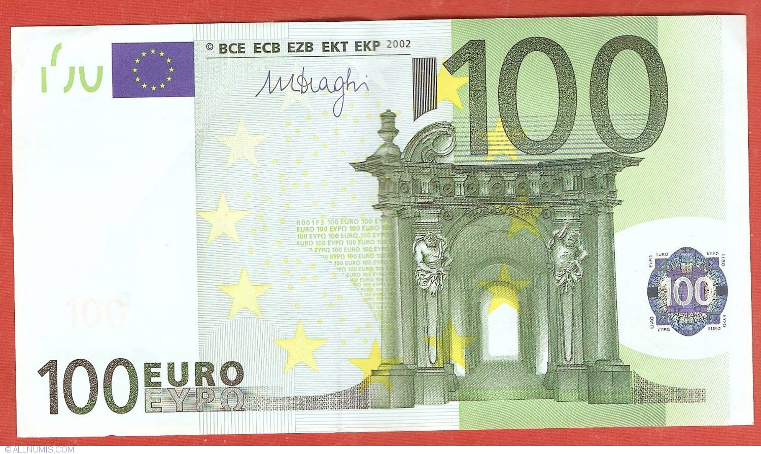 100 euro 2002 x germany 2002 issue 100 euro for Canape a 100 euros