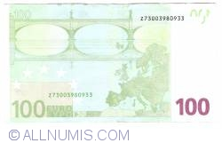 Image #2 of 100 Euro 2002 Z (Belgium)