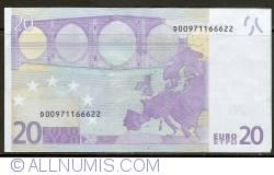 Image #2 of 20 Euro 2002 D (Estonia)