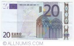 Imaginea #1 a 20 Euro 2002 F (Malta)