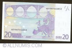 Imaginea #2 a 20 Euro 2002 G (Cipru)