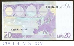 Image #2 of 20 Euro 2002 P (Netherlands)