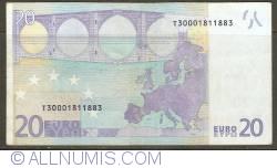 20 Euro 2002 T (Ireland)