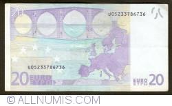 Imaginea #2 a 20 Euro 2002 U (Franţa)