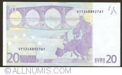 Imaginea #2 a 20 Euro 2002 V (Spania)