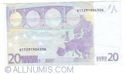 Imaginea #2 a 20 Euro 2002 X (Germania)