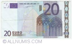 Imaginea #1 a 20 Euro 2002 Z (Belgia)