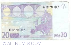 20 Euro 2002 Z (Belgia)