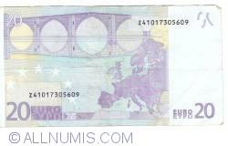 Imaginea #2 a 20 Euro 2002 Z (Belgia)