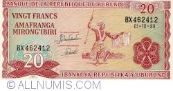Image #1 of 20 Francs 1989 (01. X)
