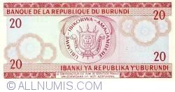 Image #2 of 20 Francs 1989 (01. X)