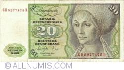 Image #1 of 20 Deutsche Mark 1977 (2. I.)