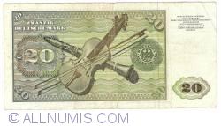 Image #2 of 20 Deutsche Mark 1977 (2. I.)