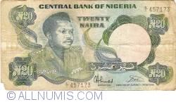 Imaginea #1 a 20 Naira ND (1984 - 2000)