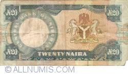Imaginea #2 a 20 Naira ND (1984 - 2000)