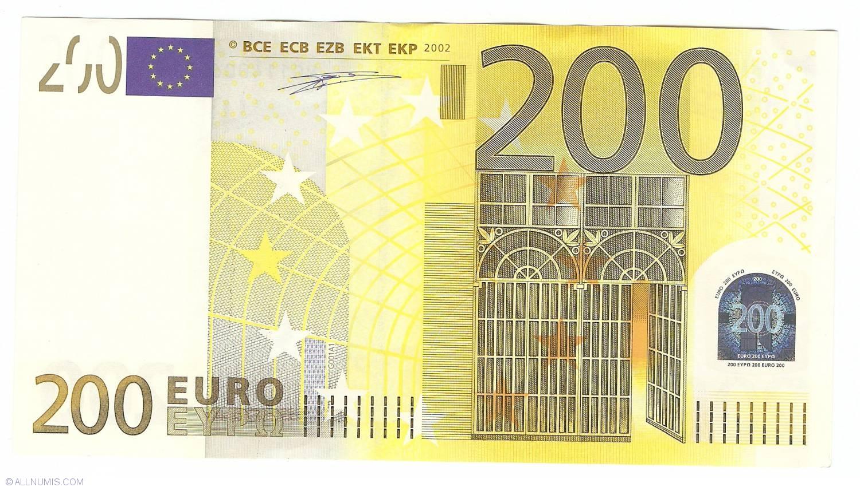 Германия 200 евро - x00257975903 - дуйсенберг unc!