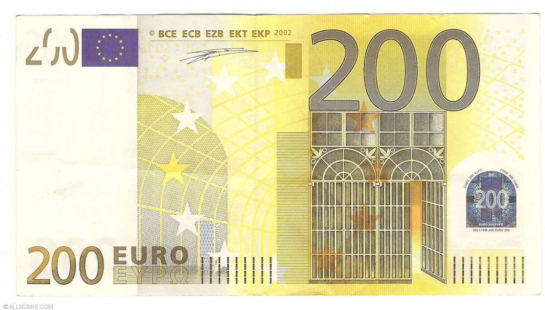 200 euro 2002 p netherlands 2002 issue 200 euro for Wohnwand 200 euro