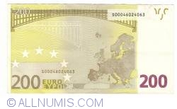 Image #2 of 200 Euro 2002 S (Italy)