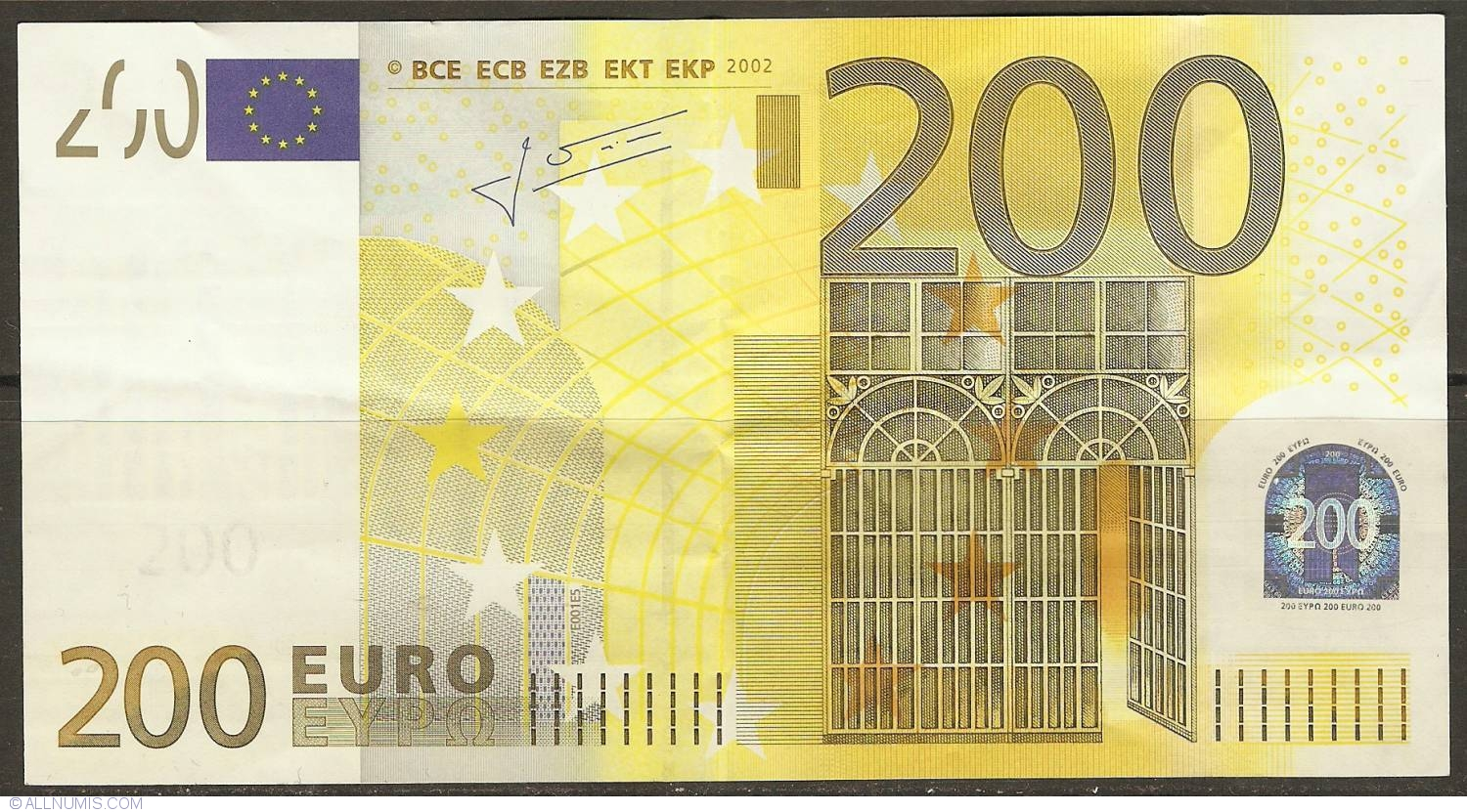 200 euro 2002 x germany 2002 issue 200 euro for Wohnwand 200 euro