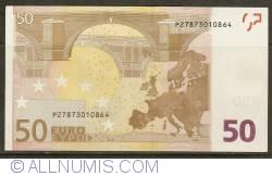 Imaginea #2 a 50 Euro 2002 P (Olanda)