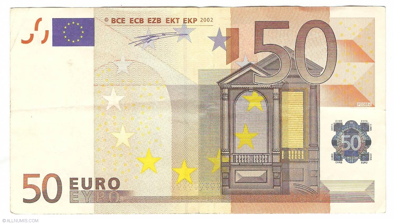 50 euro 2002 x germany 2002 issue 50 euro signature for Wohnwand 50 euro