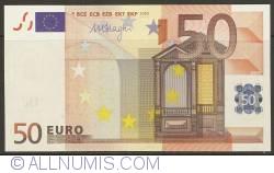 50 Euro 2002 Z (Belgia)