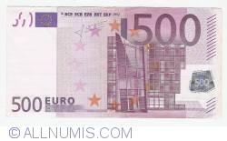 Imaginea #1 a 500 Euro 2002 X (Germania)