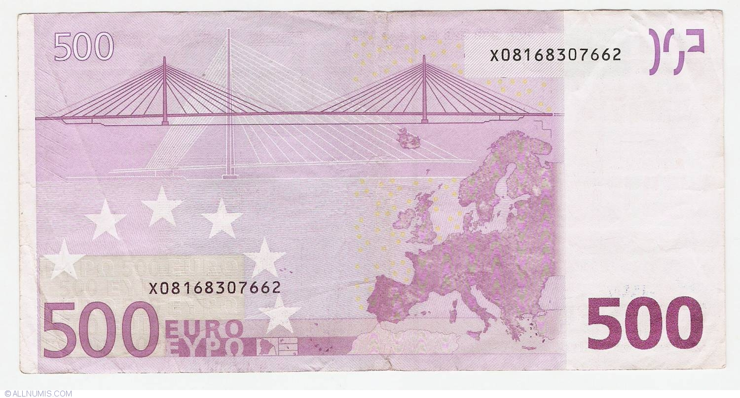 500 euro 2002 x germany 2002 issue 500 euro for Wohnlandschaft 500 euro