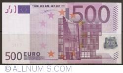 Image #1 of 500 Euro 2002 Z (Belgium)