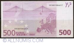 Image #2 of 500 Euro 2002 Z (Belgium)